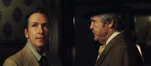 Dwight Turner and Michael Kearns in The Perfect Gentleman