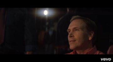 Dwight Turner in a scene from the Claptone Heartbeat music video
