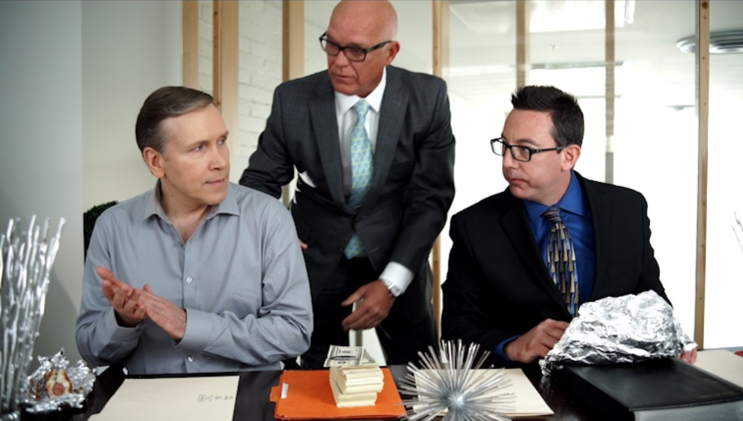 Dwight Turner as Alexander Sly, Wonnie Short as Wonnie, and Mike Breyer as Lucrative Street in Gradation