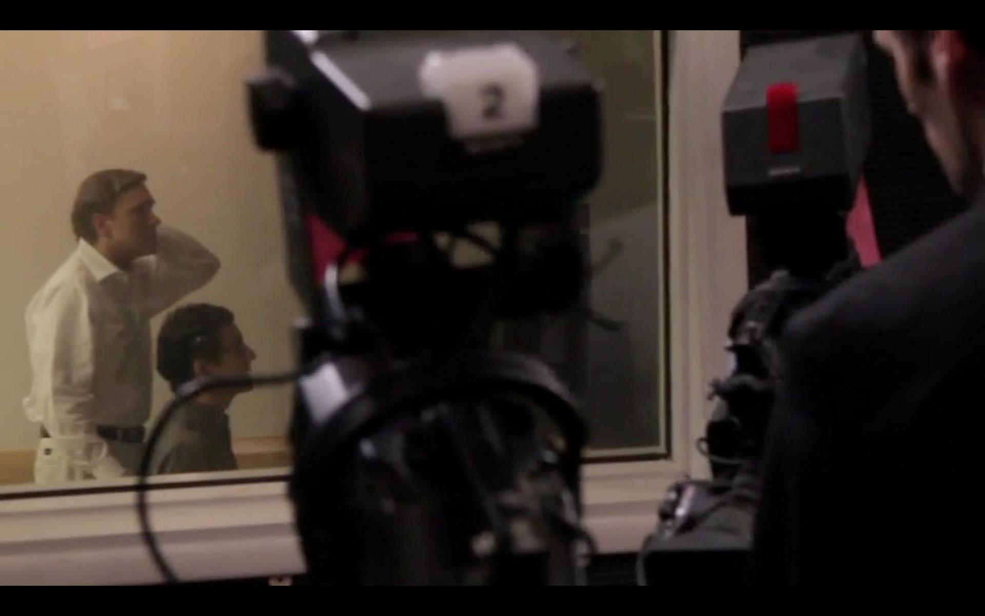 Dwight Turner as Christopher Lambert and Brian Wescott as Erik in Signing Of